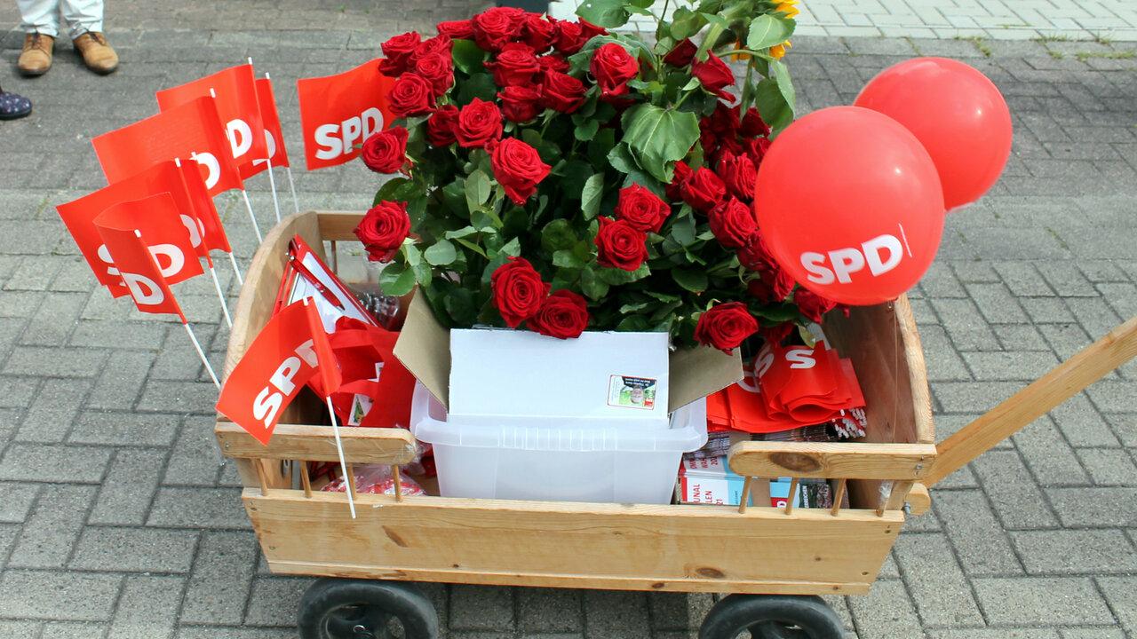 SPD Bollerwagen