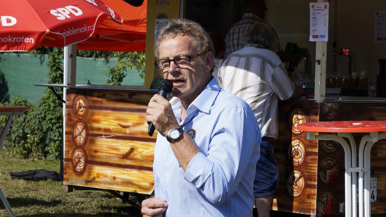 Karl Heinz Hausmann auf dem Dammwiesenfest 2019