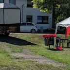 Vorbereitung Dammwiesenfest 2019
