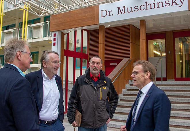 Bernd Lange bei Muschinsky