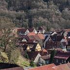 Klausurtagung 2020: SPD Fraktion und Vorstand auf einem Balkon mit Blick auf Bad Lauterberg