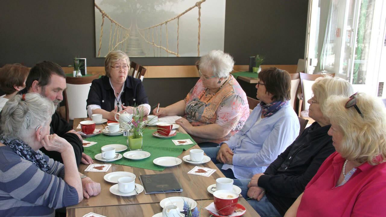 AG der SPD Frauen bei ihren monatlichen Treffen